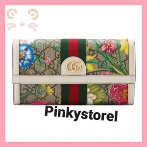 Authentic Ophidia Gucci Floral Wallet🌺